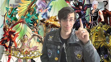 Legend Of Dragoon Characters Summerized Youtube