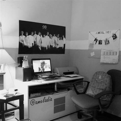 kpop room fangirl exo life style