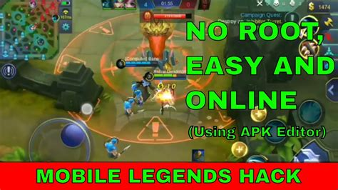 Mobile Legends Hack Using Apk Editor Latest Hack