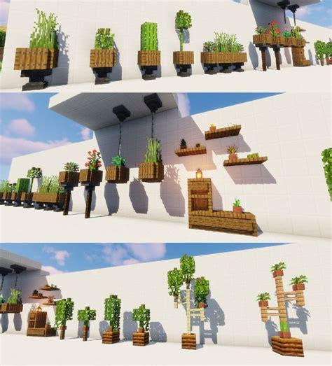 plant desings  rminecraft  joshuaelgatito httpsiftttvmkaf minecraft decorations