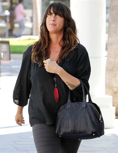 ALANIS MORISSETTE Out Shopping at Ron Herman in Brentwood ...