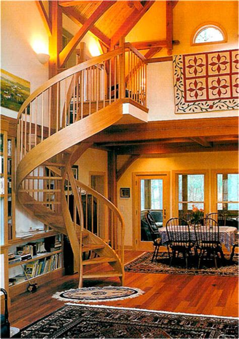 spiral stairs  staircases custom wood circular