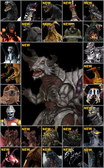 Battle legends plays like that of a fighting game. GODZILLA Playstation 3 Roster by SpaceG92 on DeviantArt