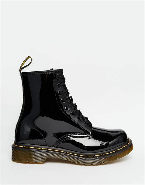 dr martens modern classics 1460 patent 8 eye boots dr martens dr martens modern classics 1460 patent 8 eye boots at asos