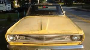 1969 Plymouth Valiant 100  170 Slant 6  A  Trans 2 Door