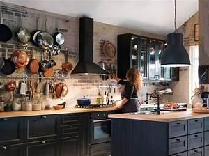 Cuisine Deco Industrielle : nos id es d coration pour la cuisine elle d coration ~ Carolinahurricanesstore.com Idées de Décoration