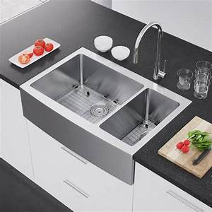 exclusive heritage 36 x 22 double bowl 70 30 stainless With 2 basin farmhouse sink