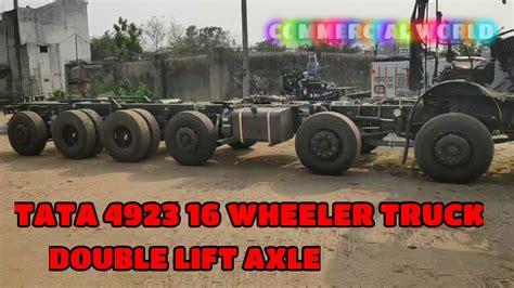 tata   wheller truck double axle youtube