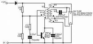 inverter for 8w fluorescent lamp circuit diagram world With 40w fluorescent lamp inverter