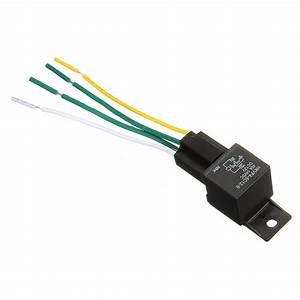 1x 12v 12volt 30a  40a Auto Automotive Relay Socket 30 Amp