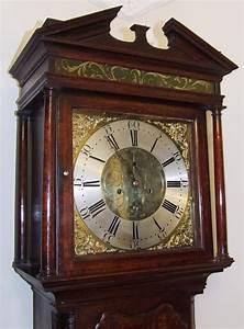 Antique, Oak, U0026, Mahogany, Longcase, Grandfather, Clock, By, Edwd, Harrison, Warrington, For, Sale