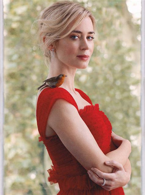 Emily Blunt covers Harper's Bazaar UK January 2019 by ...
