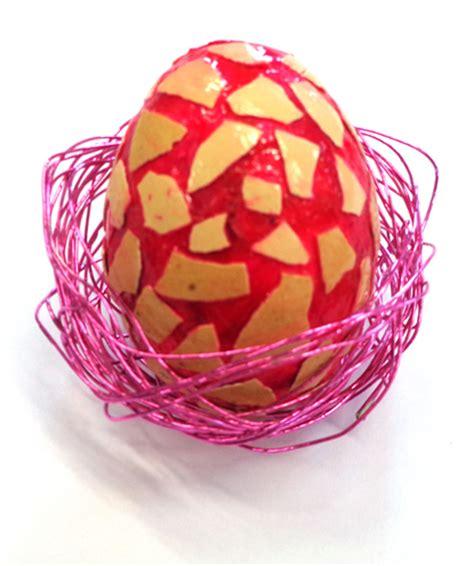 bricolage de p 226 ques d 233 corer un œuf de p 226 ques