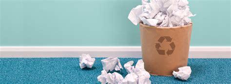 recyclage papier bureau la collecte et le recyclage du papier de bureau à la peine