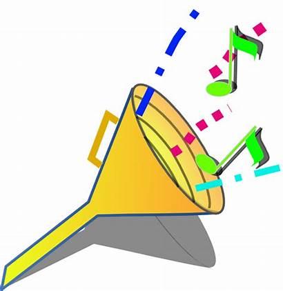 Sound Clip Clipart Noise Clker Speaker
