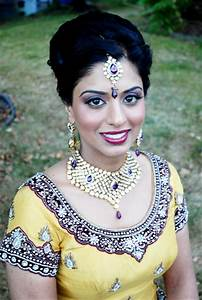 Modern but Traditional Indian Bride by Kim Basran | Hair ...
