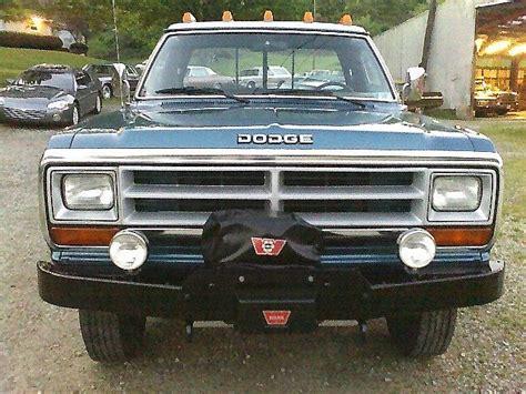 1989 Dodge Ram For Sale by 1989 Dodge Power Ram W350 4x4 For Sale West