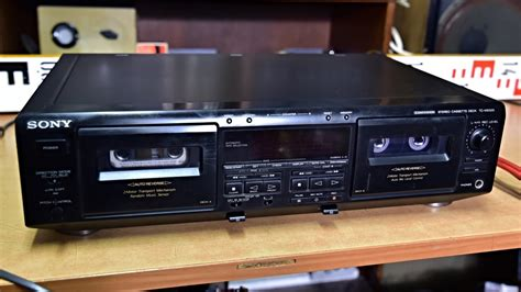 Do Not Put The Cassettes In Non Working Deck  Sony Tc