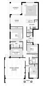 narrow cottage plans narrow lot single storey homes perth cottage home designs