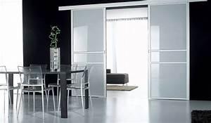 Porte Intérieur Double Vantaux : porte coulissante double vantaux en applique vuesdesofia ~ Melissatoandfro.com Idées de Décoration