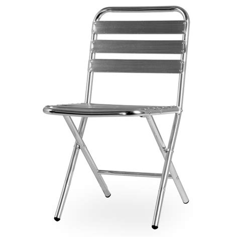 chaise pliante en aluminium chaise de terrasse aluminium pliante cra 15 gd office