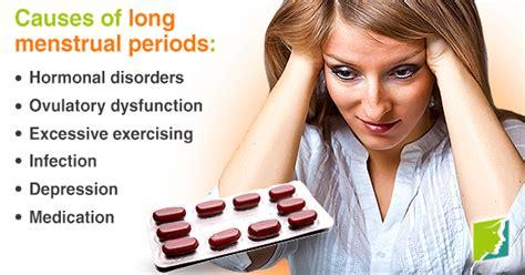 long menstrual periods