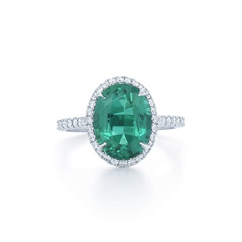 30 unique emerald engagement rings beautiful green