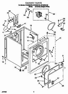 Roper Electric Dryer Parts