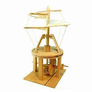 Leonardo DaVinci Aerial Screw Wood Kit - NerdPlaythings ...