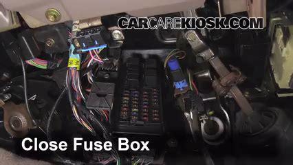 interior fuse box location   mercury sable