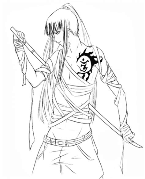 anime coloring pages bestofcoloringcom