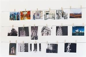 Fotos Aufhängen Schnur : fotowand ohne bilderrahmen ideen zum nachbasteln jumbo youdoo ~ Watch28wear.com Haus und Dekorationen