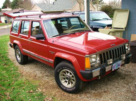 original jeep cherokee rizzlelove24 1987 jeep cherokee specs photos