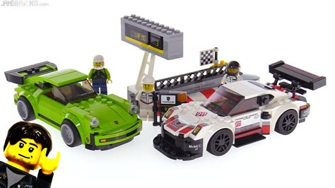 Lego Speed Chions Porsche 911 Rsr Turbo 3 0 Review 75888