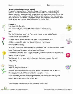 quotation marks worksheet educationcom