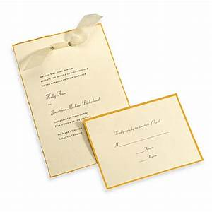 gartner studios 50 count ivory gold deckled edge With wedding invitation kits 50 count
