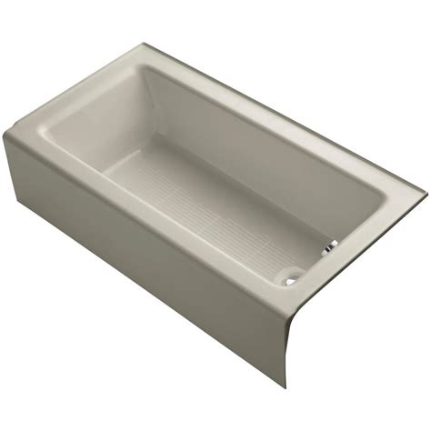 Home Depot Bootzcast Bathtub by Bootz Industries Bootzcast 5 Ft Left Drain Soaking Tub In