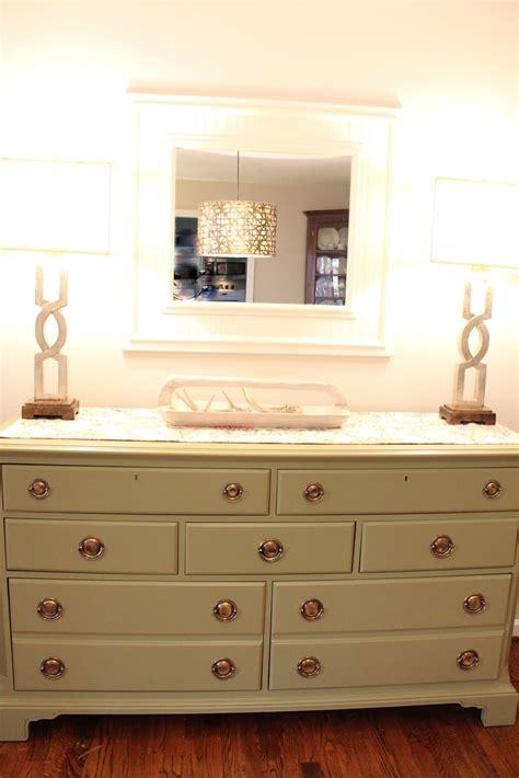 woven home goodwill dresser turned dining room buffet