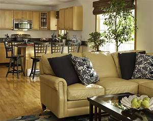 Brilliant brown leather sofa decorating ideas family room for Brown leather sectional sofa decorating ideas