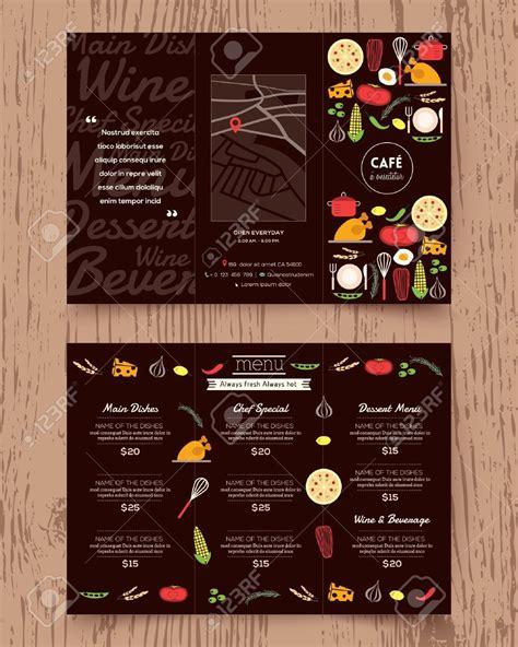 stock vector  images menu design