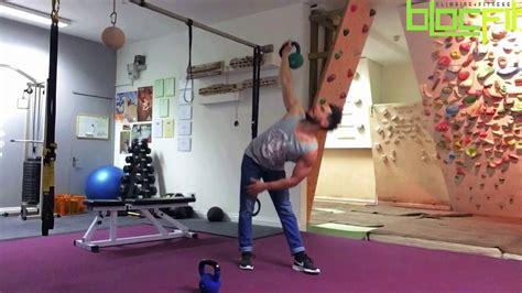 workout climbers kettlebell body