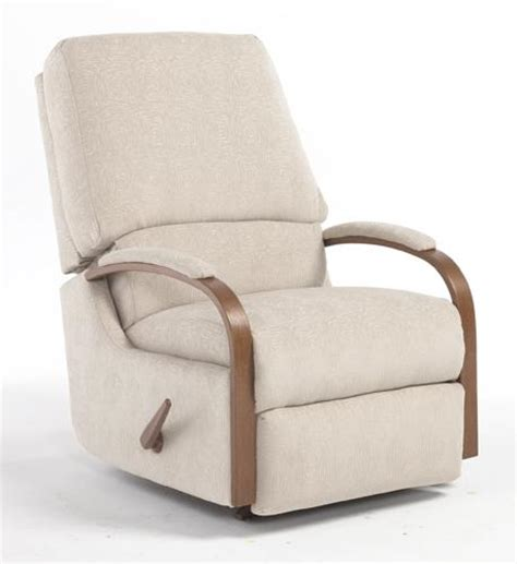pike swivel rocking reclining chair by best home