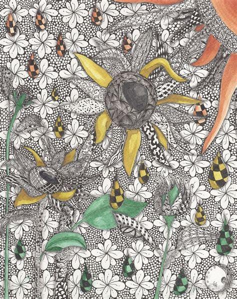 Follow the Sun by Eliza Fayle | Zentangle art, Art ...