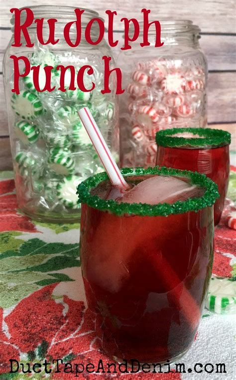 rudolph punch my kids favorite easy christmas punch