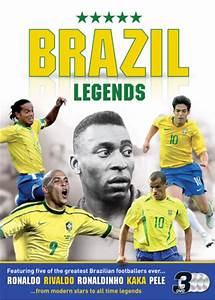 Brazilian Football Legends: Ronaldo / Ronaldhino / Kaka