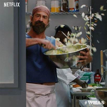 Cooking Netflix Giphy Chef Cook Gifs Meloni