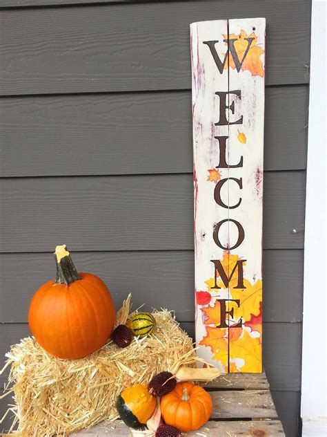 30 Easy DIY Front Porch Sign Ideas for Your Home   My