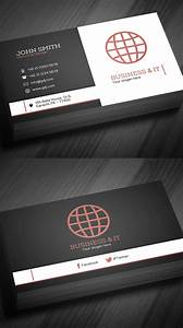 Free, Business, Cards, Psd, Templates