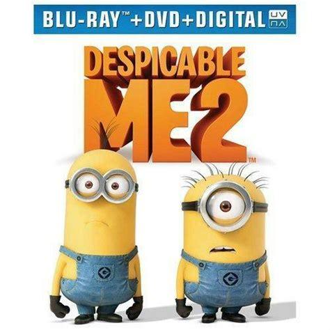 Kaos Despicable Me Logo 2 Cr despicable me 2 dvd digital copy hd w 3 mini