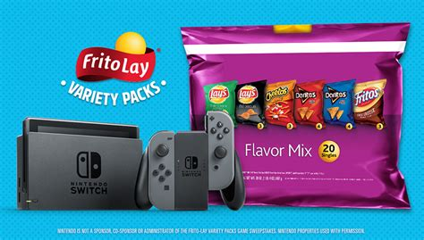 frito lays variety pack    nintendo switch